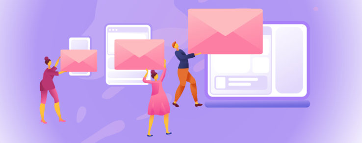 Marketers designing an email message