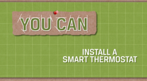 Screen shot from the video You Can Install a Smart Thermostat