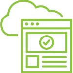 Marketing cloud icon