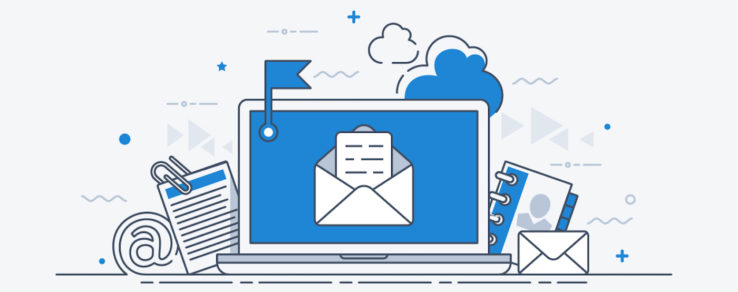 Illustration of email list growth for energy utilities