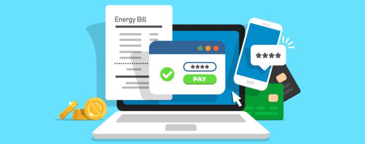 Illustration of marketing paperless billing to utility customers