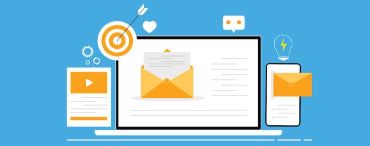 Illustration of behavioral emails in utility marketing