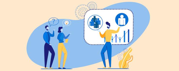 Illustration of energy utility marketers using customer segmentation