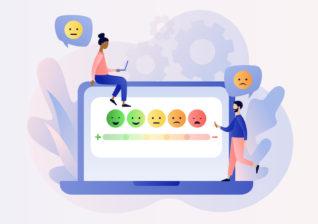 Illustration of disengaged customers
