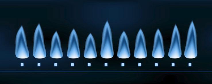Illustration of natural gas and environmental concerns